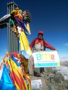 Hemos alcanzado la cima más alta de Cataluña .