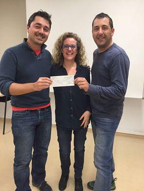 Torclum dona 1000 euros a AME .