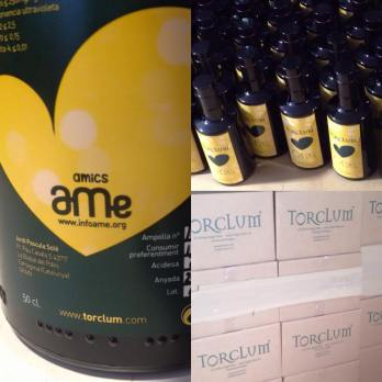 Torclum envia 2000 botellas de Ona al Centro Logísitico de Repsol